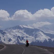 pas op 3600m hoogte - Kirgizië
