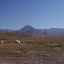 Kirgizische nomaden