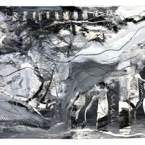 """MAUI WATERFALLS I"" (6X9) cold wax/oil on paper $75"