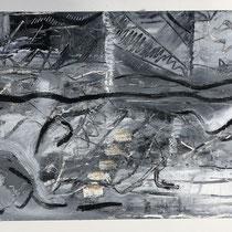 """MAUI WATERFALLS III"" (6X9) cold wax/oil on paper $75"