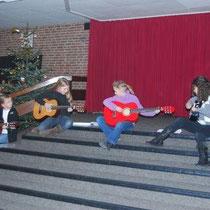 Adventfeier in der Pausenhalle