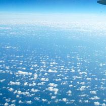 南シナ海上空