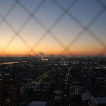 自宅からの見える日の出