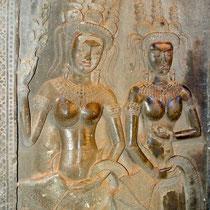 第三回廊のデヴァター(女神)