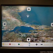 トルコに近づく