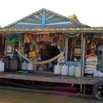 水上生活者のための売店