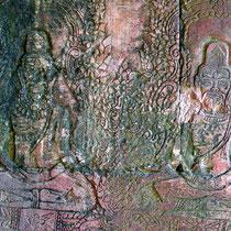 アンコールトム バイヨン第一回廊壁画