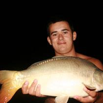 Pêche à la carpe de nuit