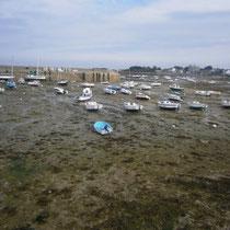 Der Hafen ist trocken....