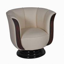 Art Deco Sessel S004. B77 x T.70 x H.75 cm
