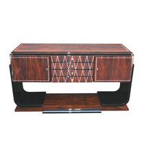 Art Deco Sideboard SB014. B.180 x T.50 x H.85 m