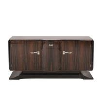 Art Deco Sideboard SB029. B.165 x T.55 x H.95 cm