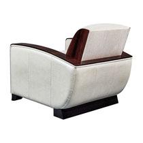 Art Deco Sessel S030- Rückansicht