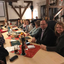 Frauen-Union Stein -  Besuch Betram Hofer CSU Stein