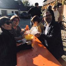 Kreisvorsitzende der Frauen Union Fürth Land Adelheid Seifert und Marga Hetzner