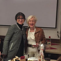 Frauen-Union Stein - Kreisvorsitzende Adelheid Seifert und Ortsvorsitzende Marita Woznik