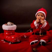 Baby Weihnachts-Shooting Studio