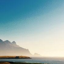 Sonnenaufgang Berg Island