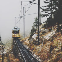 Zahnradbahn Pilatus Luzern Schweiz
