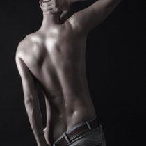 Akt Mann Rücken Hintern