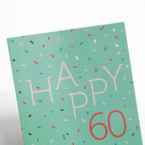 Happy 60 Typoesie