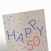 Happy 50 Typoesie