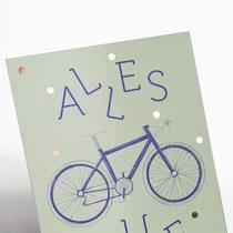Alles Gute Fahrrad Typoesie