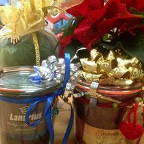 """Weihnachtsgeschenke """"Wolle im Glas"""" - fertig zum verschenken"""