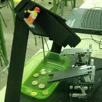 Sistema incorporado á máquina