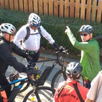 Erste Ausfahrten mit dem E-Bike