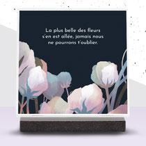 Plaque funéraire IQONIQ X Ludovic Jacqz