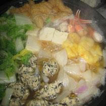 みかん餅鍋