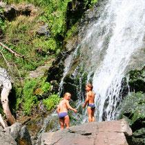 Todtnauer Wasserfall nahe Glasbläserhof