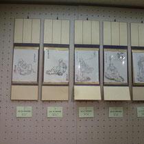 仏画=7期 平林 知人作・7期 日笠 和枝作