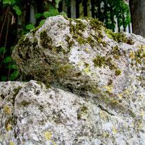 Partie du croisillon de la croix templière d'Hocquélus