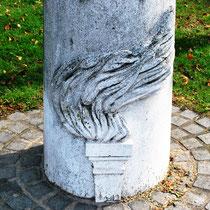 Détail de la borne: Voie de la Liberté à Amiens