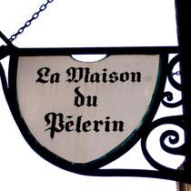 Enseigne de la Maison du Pèlerin- Amiens