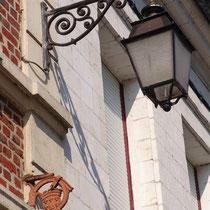 Morceau de patère, rue André Tempez à Doullens
