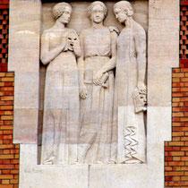 Haut-Relief d'Anne-Marie Roux- Conservatoire de Musique- Amiens