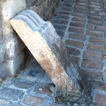Chasse-roue de la porte de Nevers- Saint-Valery