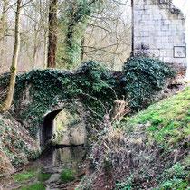 Vestiges du château de Montrelet