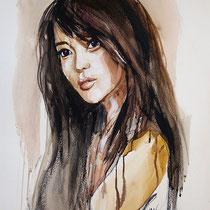 BEIJING GIRL - 46 X 58 - 2014