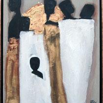 GROUPE AFRIQUE - 73 X 92 - 2007