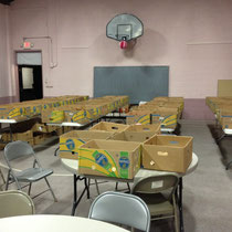 Our Food Donations for Thanksgiving