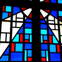 Stain Glass Cross