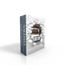 Estuche rígido con 4 discos que contienen la Obra Magna del Derecho