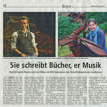 LZ 8th June 2016, source: Landeszeitung der Lüneburger Heide