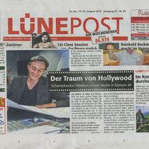 LP 15/16th August 2015 Traum von Hollywood, source: LünePost, sta  Foto t &w, nh