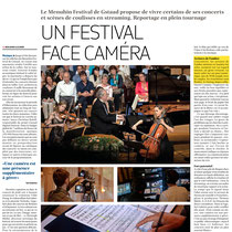 Magazine 22th July 2017 Menuhin Festival