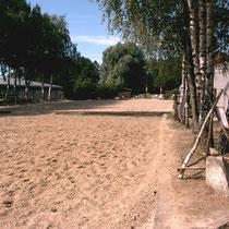 Longier- und Dressurplatz